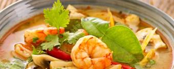 Feine Köstlichkeit: Tom Yam Suppe