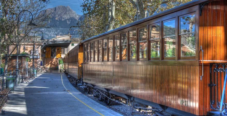 Tren de Sóller auf Mallorca