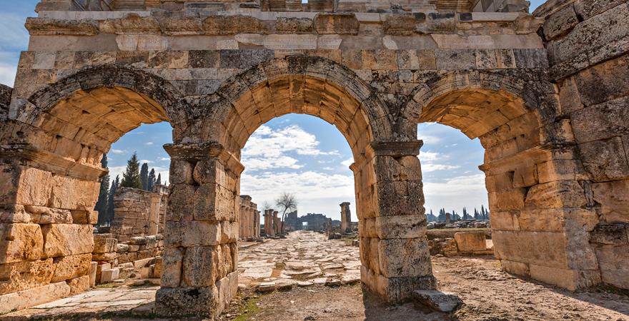 Hierapolis, Pamukkale, Türkei