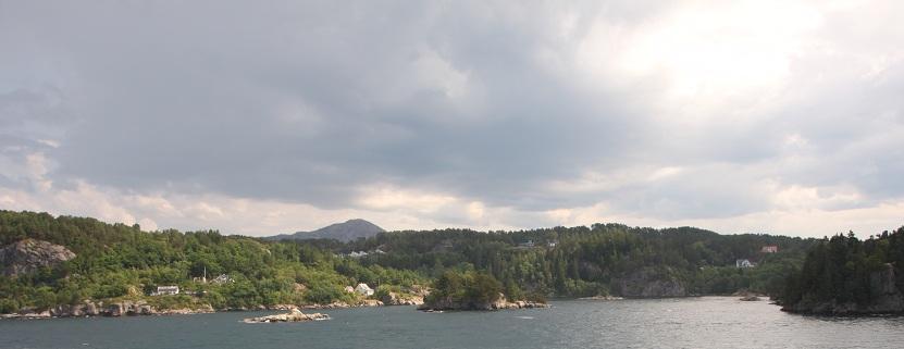 Bergen Norwegen Kreuzfahrt
