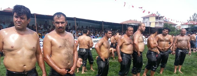 türkischer Öl Ringkampf - z.B.: beim Urlaub in der Türkei an der türkischen Riviera