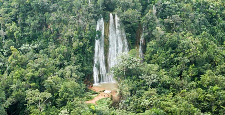 El Limón Wasserfall, Samana