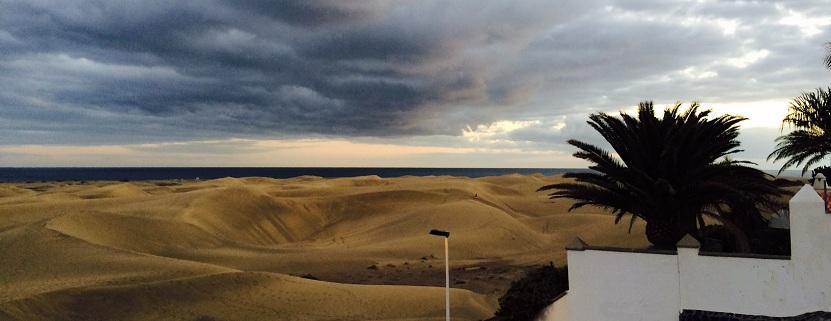 Urlaub auf Gran Canaria: die weltberühmten Dünen von Playa del Inglés