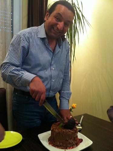Geburtstagsfeier in der Türkei