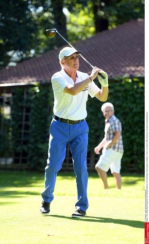 Franz Beckenbauer/ Kaisercup 2015 - Benefiz Golfturnier / Hartl Golf Resort / Bad Griesbach / Golfplatz - Turnier / 11.Juli 2015 / Bitte Fotovermerk: Schneider-Press/W.Breiteneicher