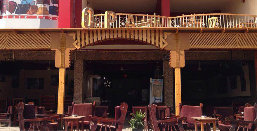 "Das Café ""Opa"" in Hurghada"