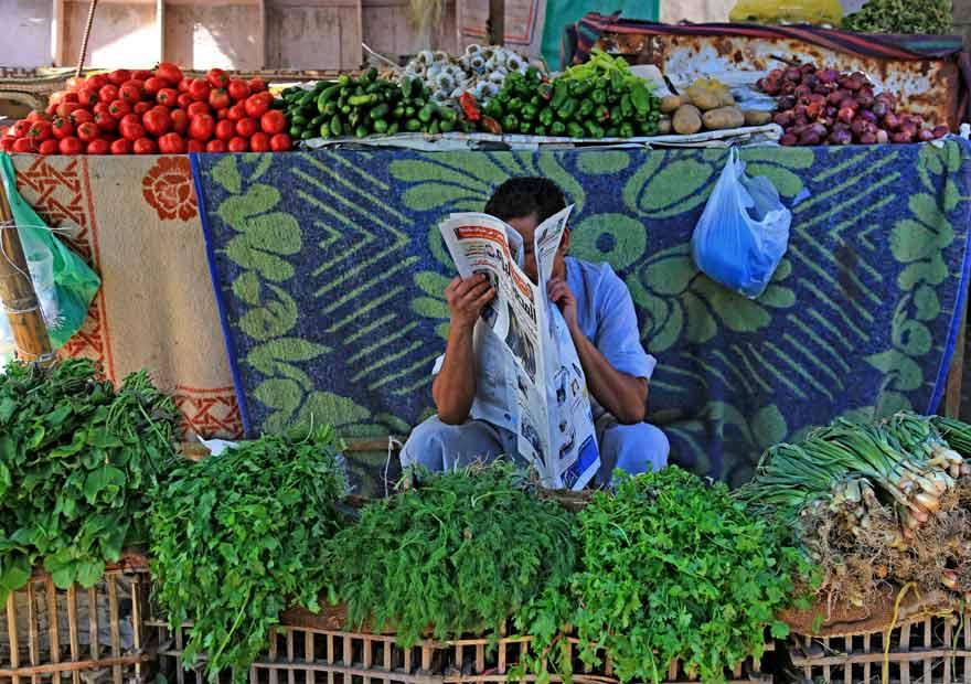 Bei einem Stadtrundgang kommt ihr auch an Hurghadas Gemüsemarkt vorbei