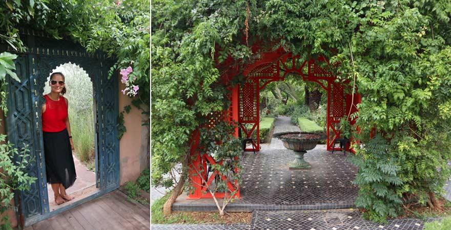 Impressionen aus dem ANIMA Garten in Marrakesch