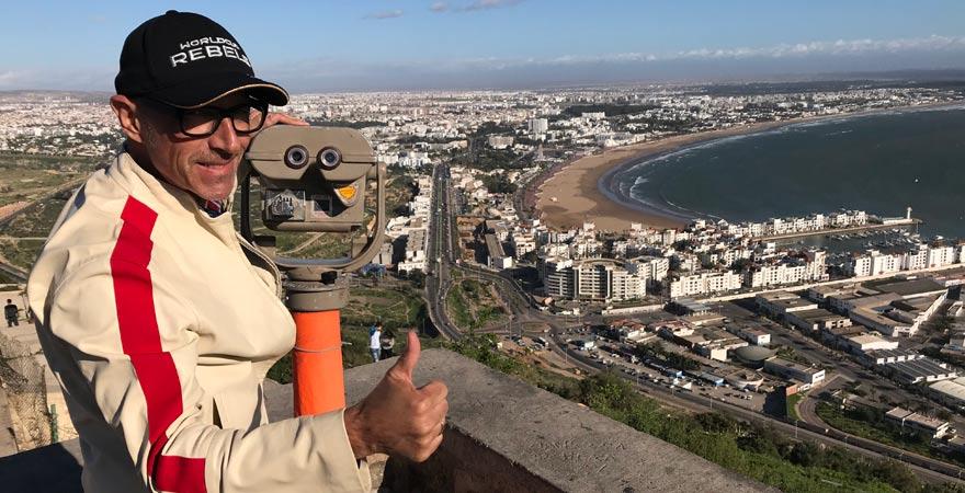 Panoramablick auf Agadir
