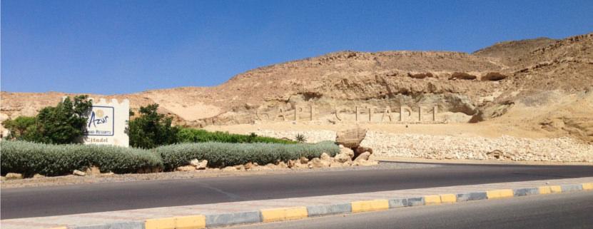 Einfahrt zum Albatros Citadel Resort in Hurghada
