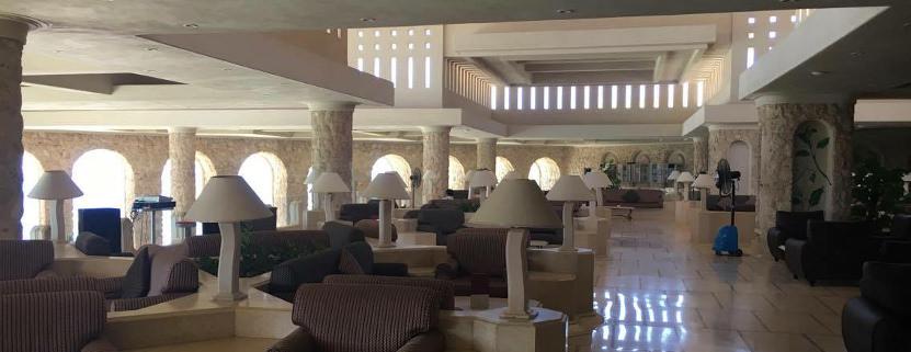 Die Lobby im Albatros Citadel Resort