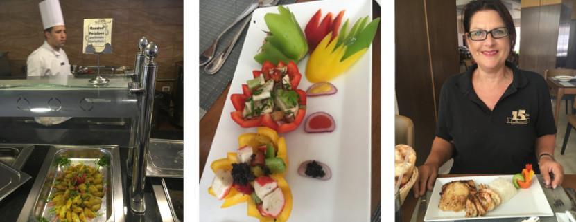 Italienisches Restaurant im Albatros White Beach in Hurguhada