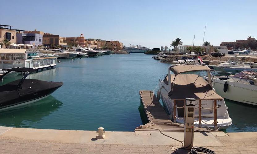 Abu Tig Marina Hafen in El Gouna