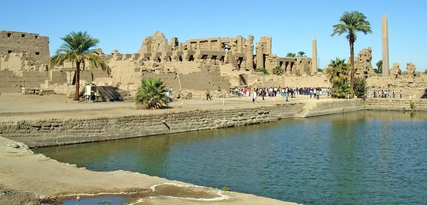 Der Karnak-Tempel in Luxor
