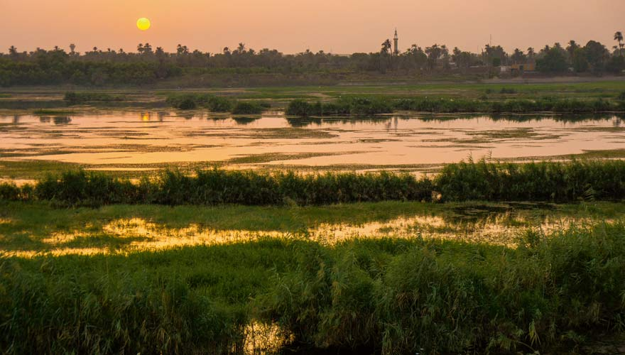 Nilufer, Ägypten