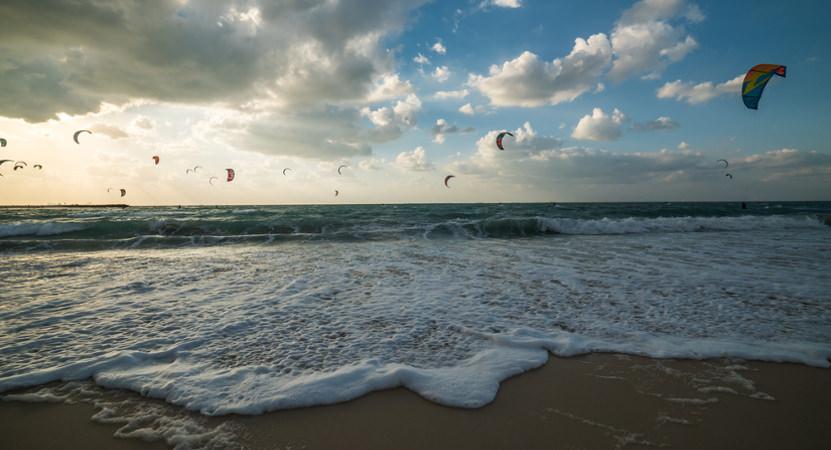 Ein Tipp für Dubai ist der Kite Beach