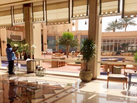 Marriott Beach Resort Eingangshalle
