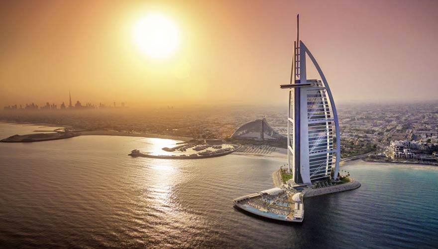 Das Burj Al Arab zählt zu den besten Tipps in Dubai