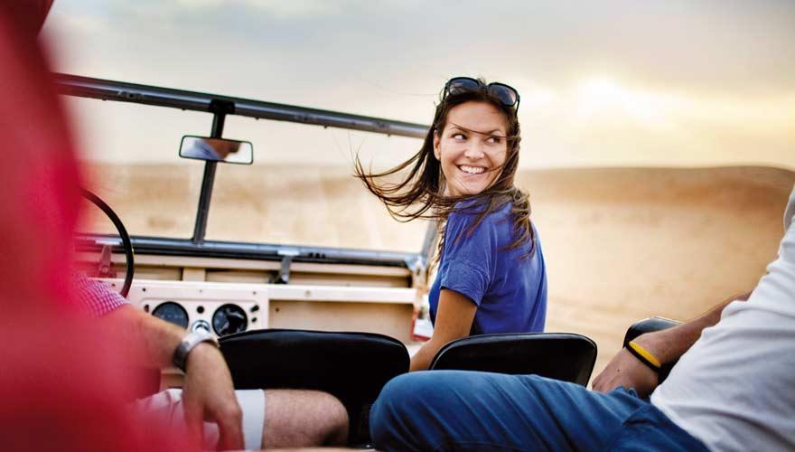Wüstensafari mit dem Jeep in Dubai