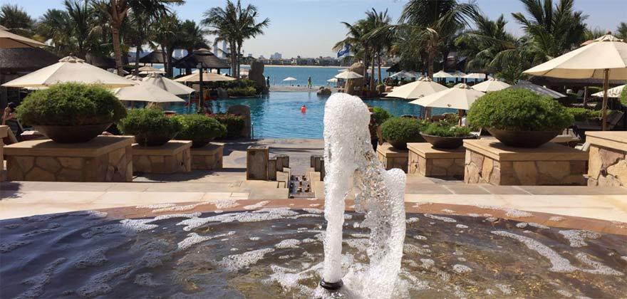 Hotelanlage in Dubai