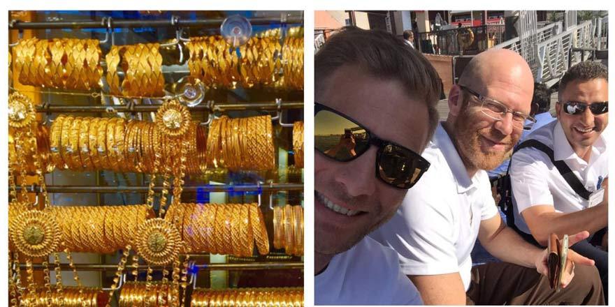 Dirk beim Shoppen in Dubai