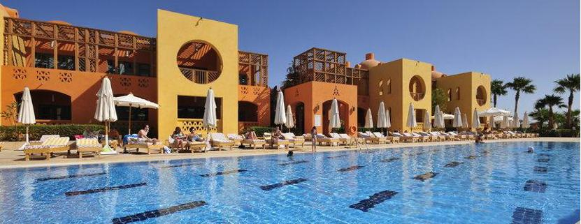 Der Pool vom Steigenberger Golf Resort in El Gouna