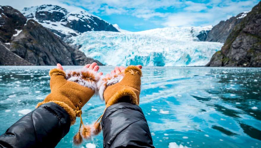 Abenteurer wählen eine Kreuzfahrt bspw. nach Alaska