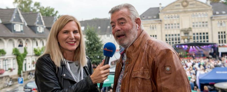 Berit und Harry Wijnvoord sonnenklar.TV Sommerfest Essen