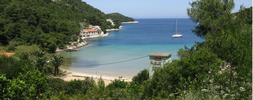 Stonica Strand auf der Insel Vis