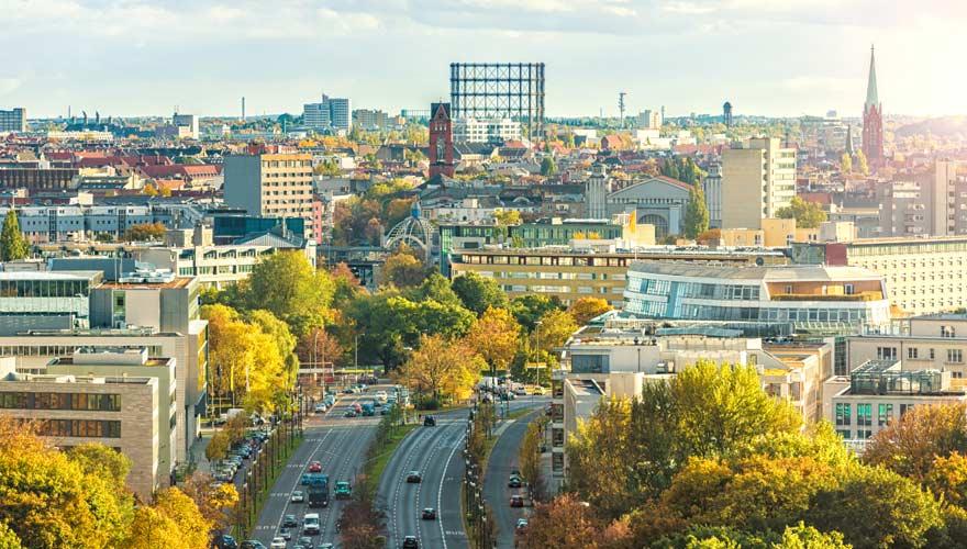 Stadtteil Schöneberg von Berlin