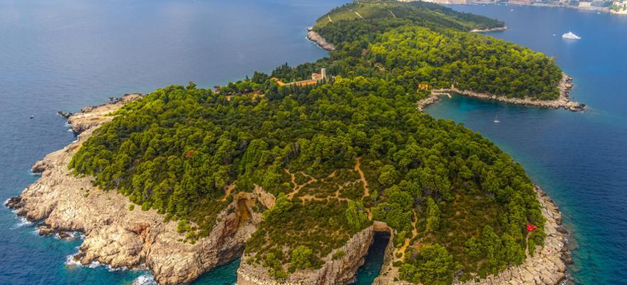 Insel Lokrum Kroatien