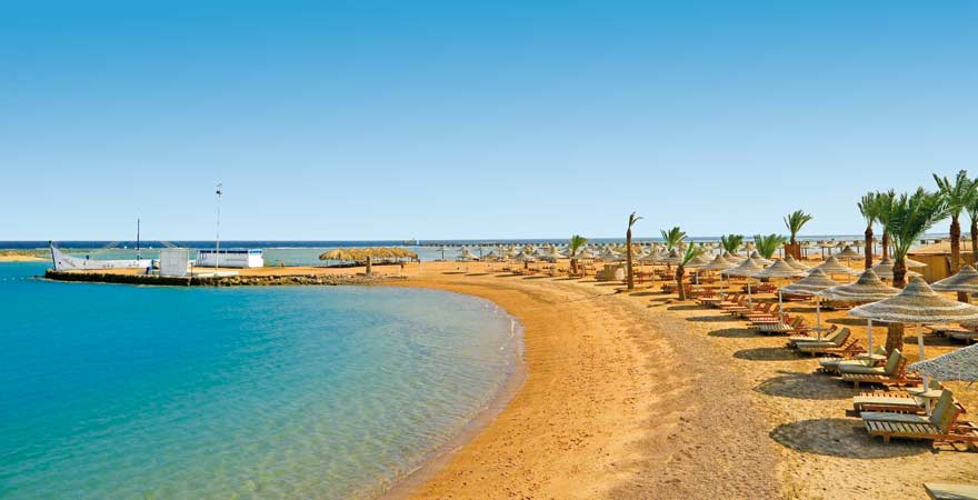 Der Strand vom LABRANDA CLub Makadi