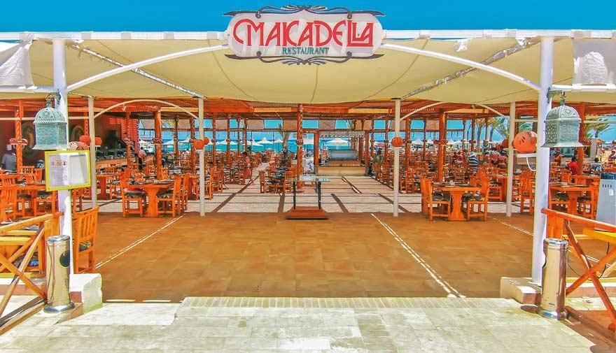 Das Strandrestaurant im LABRANDA Club Makadi