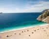 Strand türkische Riviera