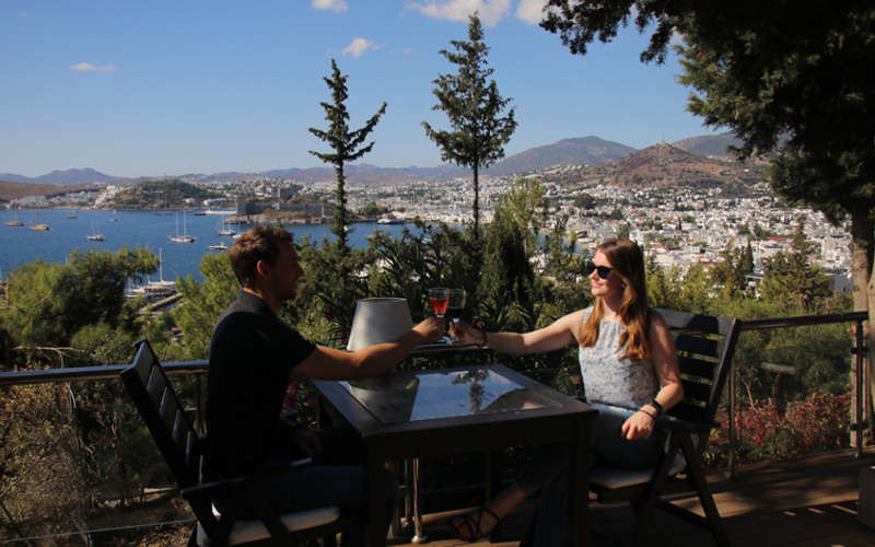 Annika und Mathias in Bodrum