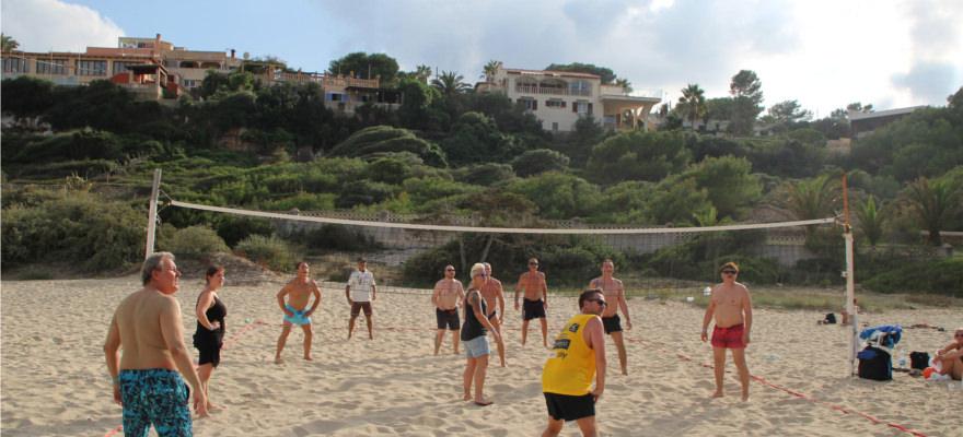 Volleyball Turnier der sonnenklar.TV Gäste während der Schlager- & Spaßwoche 2017