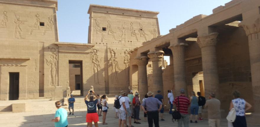 Ausflug nach Luxor während einer Nilkreuzfahrt