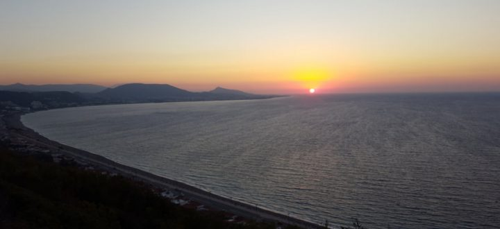 Sonnenuntergang Rhodos