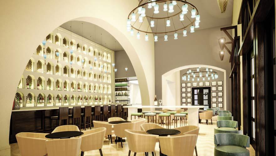 Bar im Sheraton Miramar Resort El Gouna