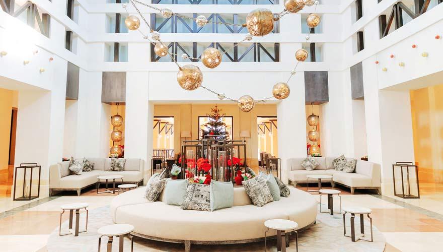 Lobby im Sheraton Miramar Resort El Gouna