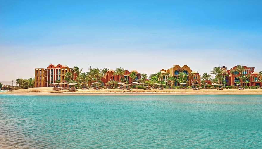 Strand vom Sheraton Miramar Resort El Gouna