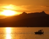 Sonnenuntergang in Bodrum