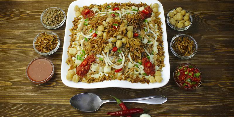 Koshery, ein ägyptisches Gericht