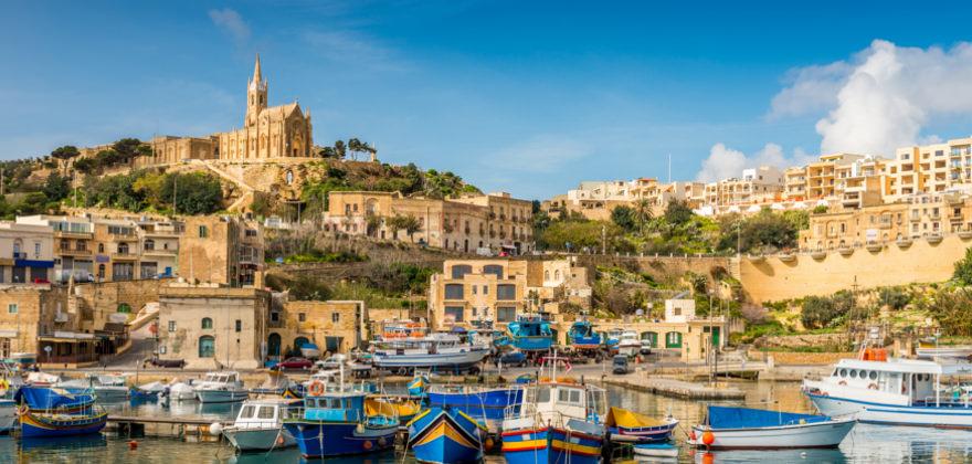 Hafen in Malta