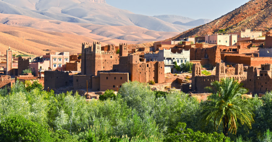 Stadt in marokko