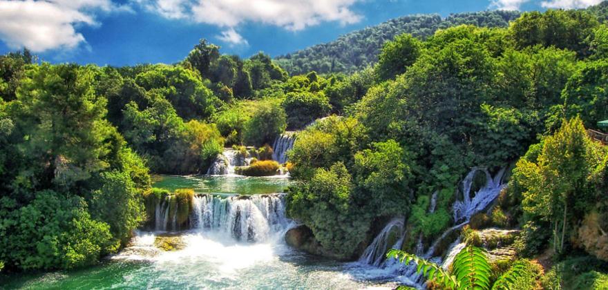 Nationalpark Krka Kroatien
