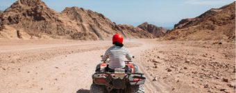 Eine Quad-Tour durch die Wüste Ägyptens