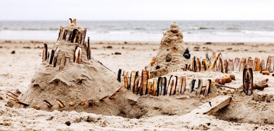 sandburg an der nordsee