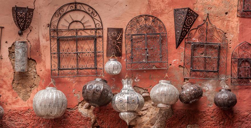 Verkauf von orientalischen Lampen