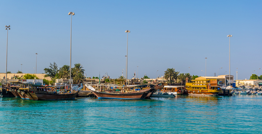 Abu Dhabi Dhow Werft